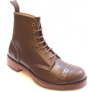78PTC Mens Traditional Leather Derby Boot
